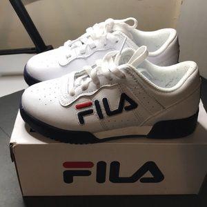 Boys Fila Tennis Shoes